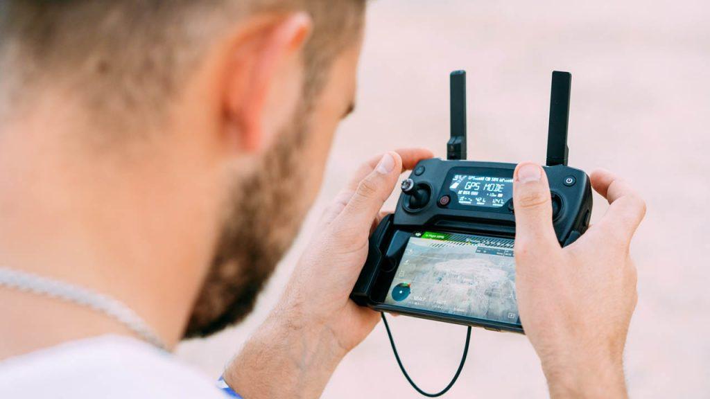 filmowanie ślubu z drona