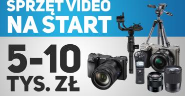 ile kosztuje sprzęt do filmowania ślubów