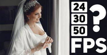 w ilu klatkach nagrywać filmy ślubne