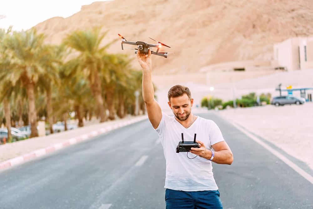 jak zapobiec ucieczce drona